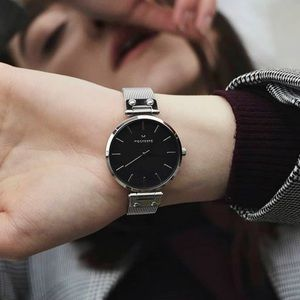 Mockberg 'Elise Noir' Watch